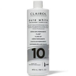 Clairol Soy 4 Plex Pure White Creme Developer 10 Volume 16 oz