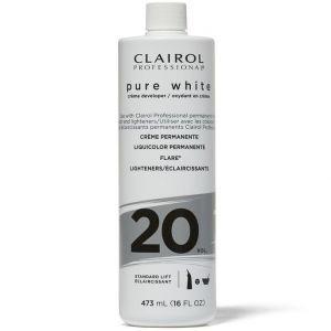 Clairol Soy 4 Plex Pure White Creme Developer 20 Volume 16 oz
