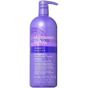 Clairol Shimmer Lights Shampoo Blonde and Silver 32 oz