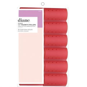 Diane Magnetic Rollers Red 1 1/2