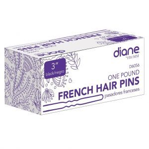 Diane One Pound French Hair Pins Black - 3