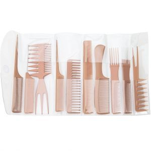Diane Assorted Comb Kit 10 Pack Bone #D7902