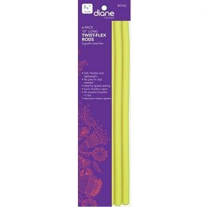 Diane Twist Flex Rods Yellow 10