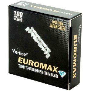 Euromax ''Cryo'' Sputtered Platinum Single Edge Blade - 100 Blades