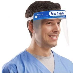 Face Shield Safety Face Protector - 10 Pack