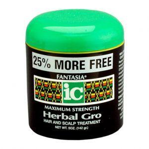 Fantasia IC Maximum Strength Herbal Gro Hair & Scalp Treatment 5 oz