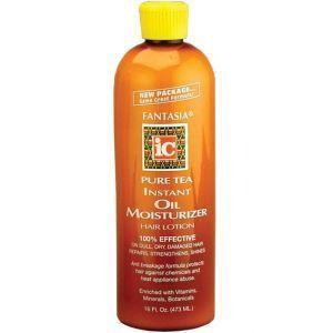 Fantasia IC Pure Tea Instant Oil Moisturizer Hair Lotion 16 oz