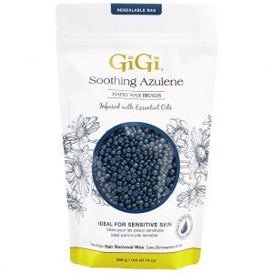 GiGi Soothing Azulene Wax Beads 14 oz #0313EC