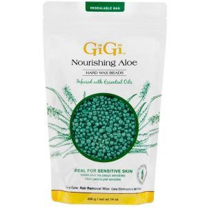 GiGi Nourishing Aloe Hard Wax Beads 14 oz #71606