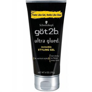 got2b Ultra Glued Invincible Styling Gel - Vertical Style 6 oz