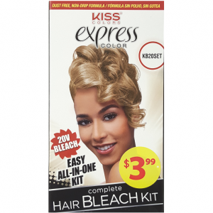 Kiss Express Color Complete Hair Bleach Kit - 20V Bleach #KB20SET