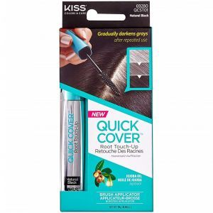 Kiss Colors Quick Cover Root Touch-Up Brush Applicator 0.53 oz