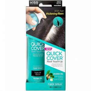 Kiss Colors Quick Cover Root Touch-Up Fiber Spray 3.38 oz