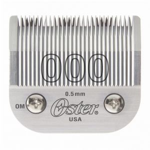 Oster Detachable 000 Blade Fits Classic 76, Octane, Model One, Model 10 Clippers #76918-026