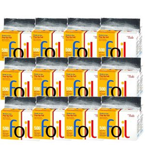 Product Club Ready to Use Pop-Up Foil Silver - 500 Sheets #PHF-500 - 12 Pack