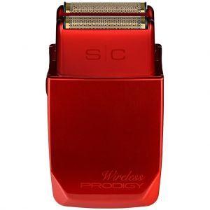 Stylecraft Wireless Prodigy Shaver with Wireless Charging - Red #SCWPFS