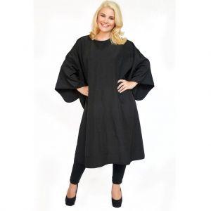 Styletek All Purpose Styling Cape - Black #9211-D