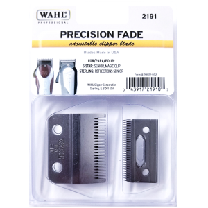 Wahl Precision Fade Adjustable Clipper Blade For 5 Star Senior, Magic Clip, Sterling Reflections Senior #2191