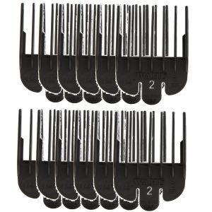 Wahl Clipper Guide Black #2 #3124-001 - 12 Pack