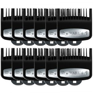 Wahl Premium Cutting Guide Comb with Metal Clip #1 - 1/8 Inch #3354-1300 - 12 Pack